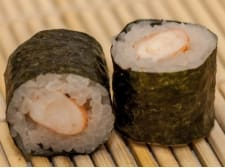 Hossomaki de camarão (8 unidades)