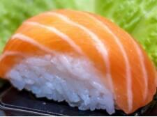 Niguiri salmão (4 unidades)