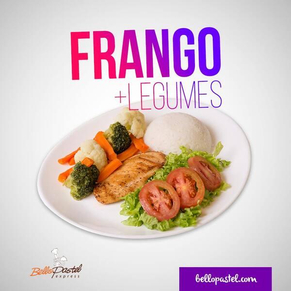 Frango fit c/ legumes