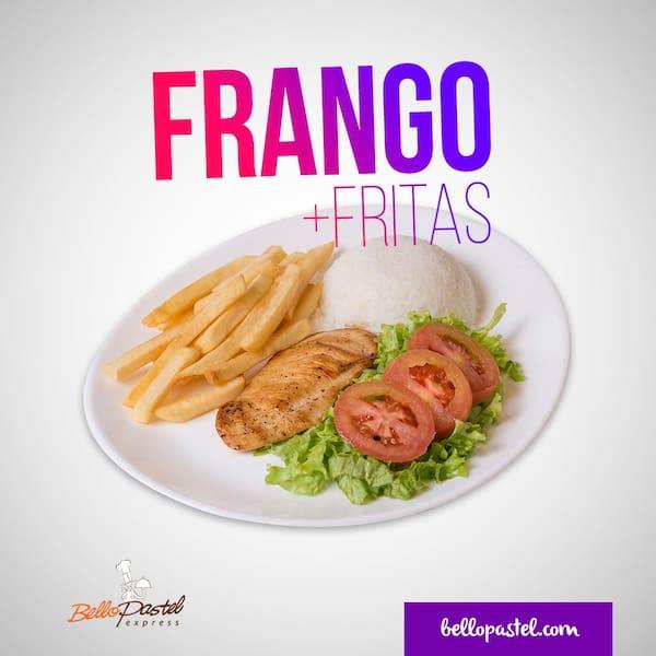 Frango fit c/ fritas