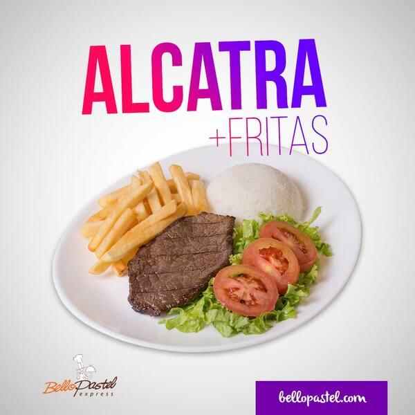 Alcatra fit c/ fritas