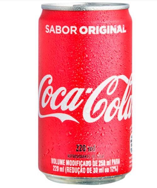 Refrigerante de lata 220 ml