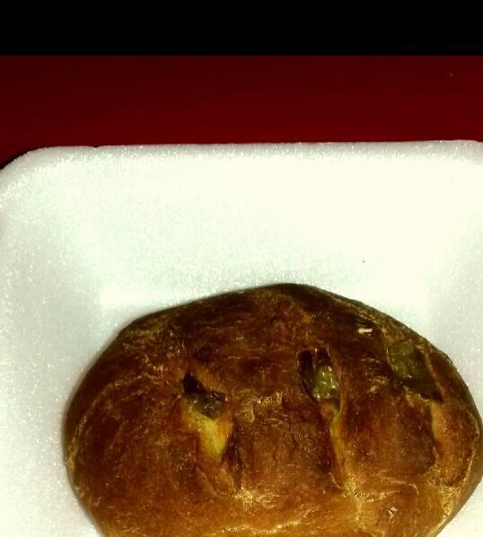Pão pequeno de ervas