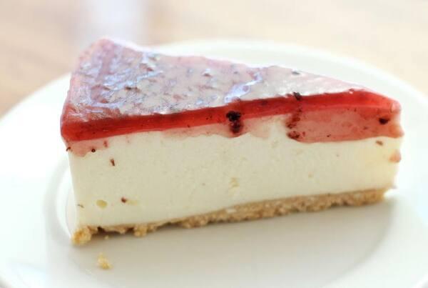Torta cheese cake de amora