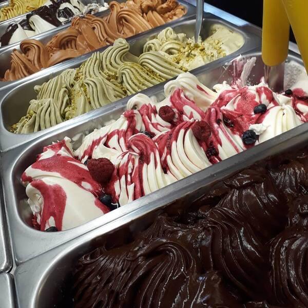 Pote de 480 ml de gelato italiano