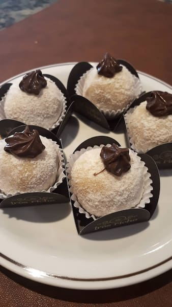 Brigadeiro gourmet de leite Ninho com Nutella