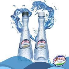 Água mineral com gás - sferrier premium