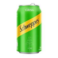 Citrus Schweppes lata