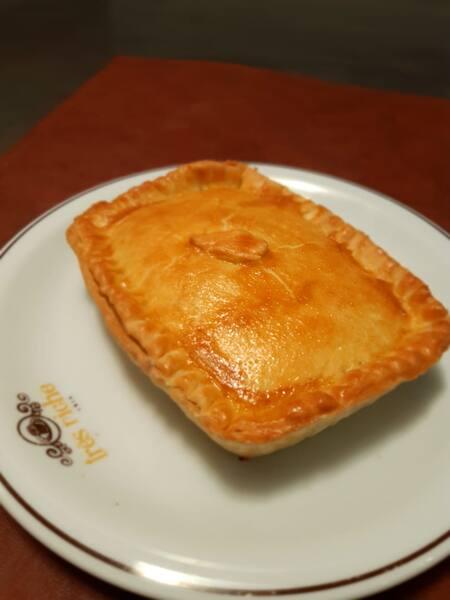 Torta salgada de frango com Catupiry