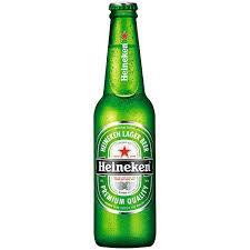 Cerveja long neck: Heineken
