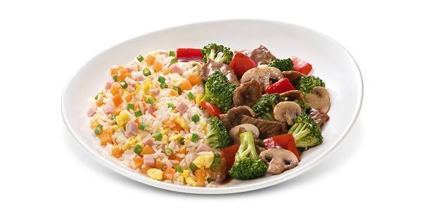 Beef com brócolis