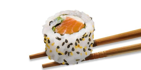 Uramaki salmão 8 unidades