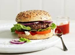 Combo x- salada hambúrguer artesanal + 1 Fanta laranja lata 350 ml