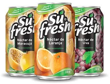 Suco lata su fresh 330 ml