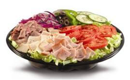 Salada Peito de Peru