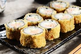 Hot roll salmão grelhado cream cheese - 10 unidades