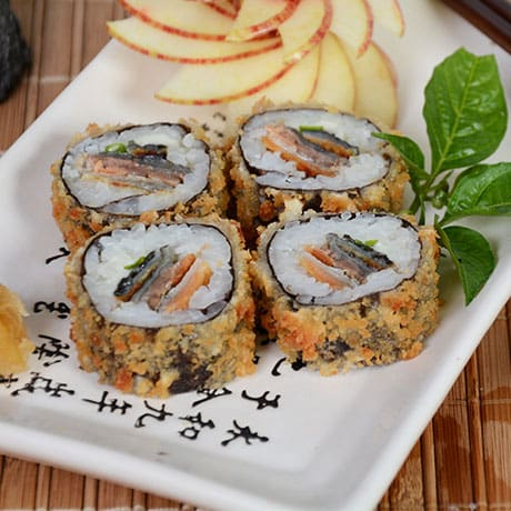 Hot roll salmão skin cream cheese - 10 unidades
