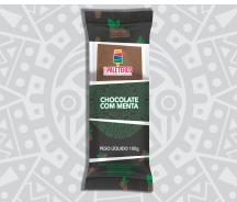 Caixa com 12 paleta xs - chocolate com menta