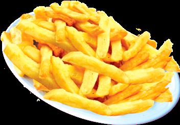 Porção fritas