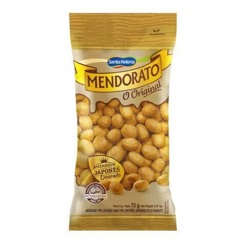 Amendoim japonês c casca