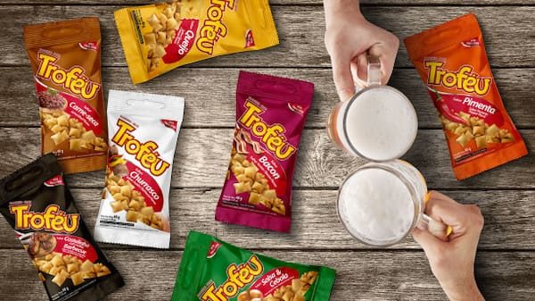 Salgadinho - snacks troféu