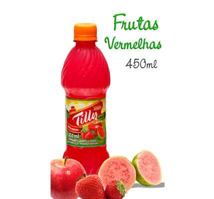 Suco tílly frutas vermelhas 450ml
