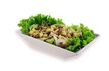 Salada Caesar Iscas de Carne