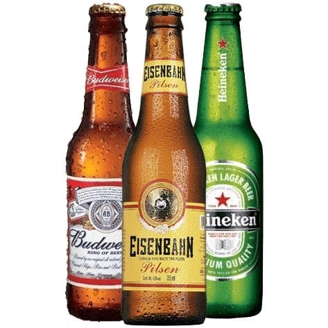 Cerveja long neck premium 355ml