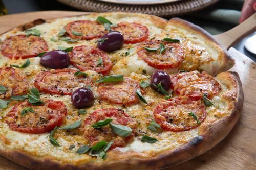 .pizza grande salgada