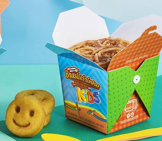 Box kids frango