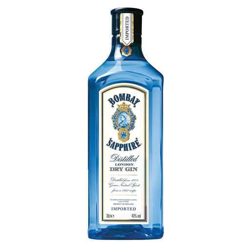 Gin importado Bombay sapphire