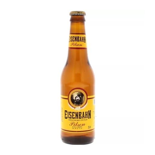 Cerveja Eisenbahn puro malte long neck gelada