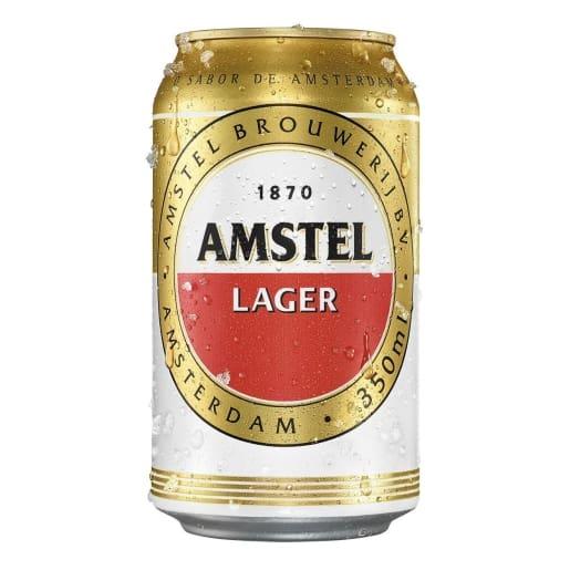 Cerveja Amstel gelada