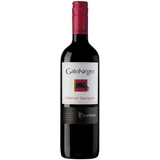 Vinho chileno gato negro carbenet sauvignon