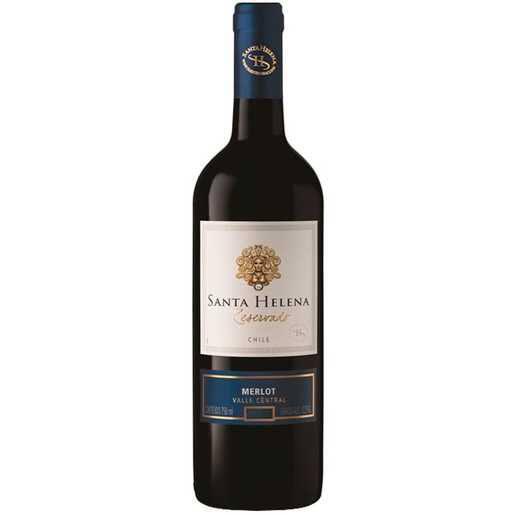 Vinho chileno Santa Helena reservado Merlot