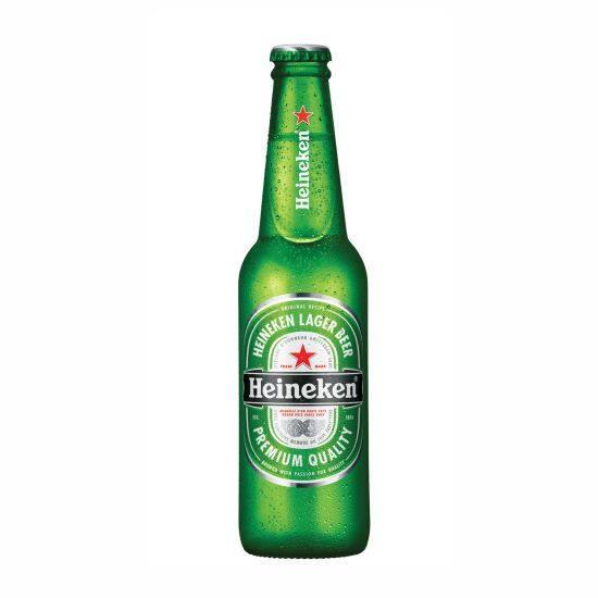 Cerveja Heineken long neck 330ml gelada