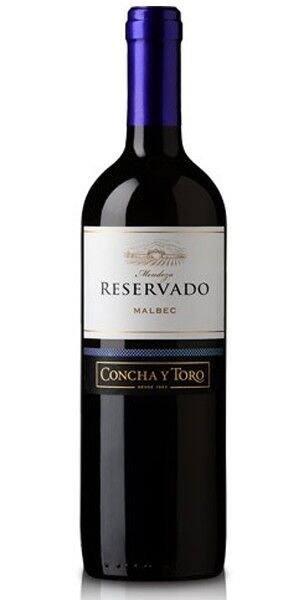 Vinho argentino Concha y toro reservado Malbec