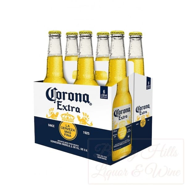 Pack cerveja Corona extra gelada 355ml
