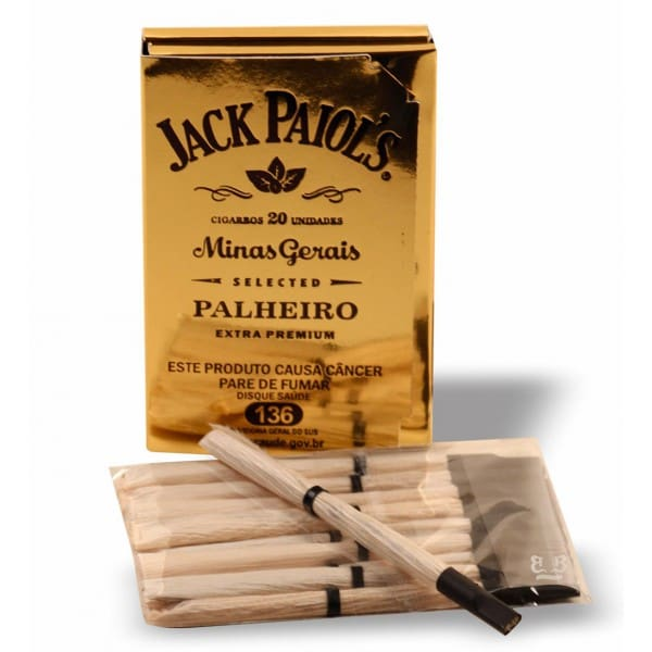 Cigarro palheiro jack paiol´s extra premium ultra  gold
