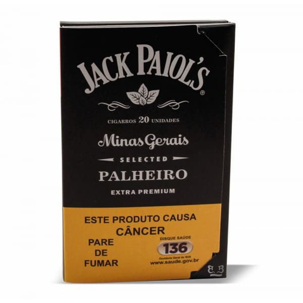 Cigarro palheiro jack paiol´s extra premium tradicional