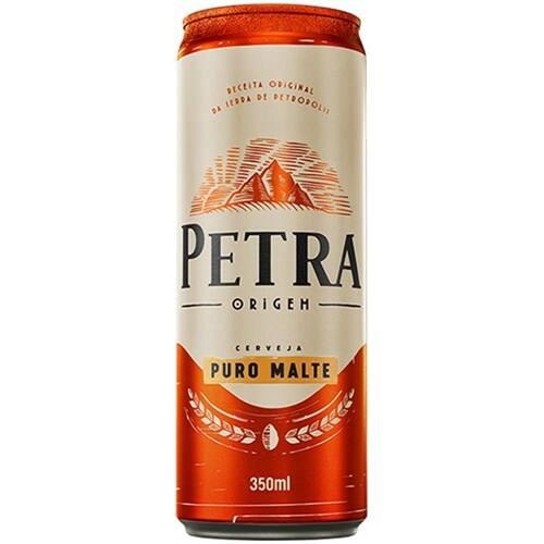 Cerveja Petra puro malte gelada