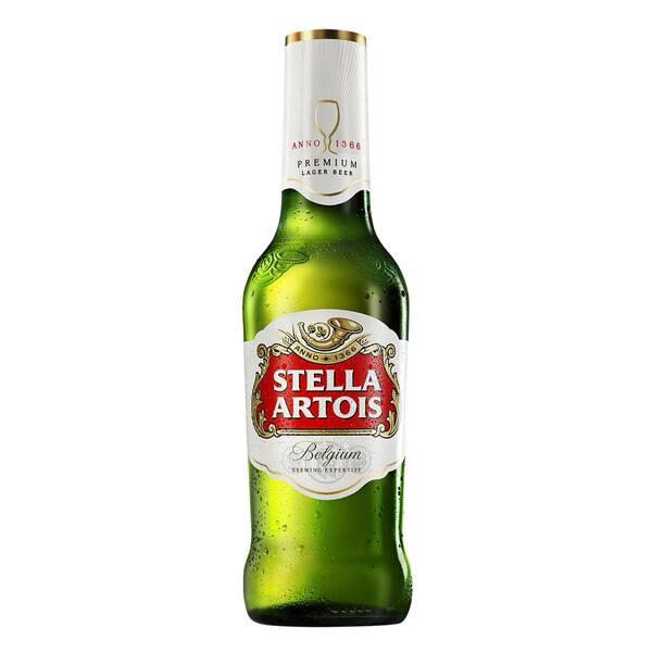 Cerveja Stella Artois long neck 275ml gelada