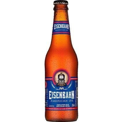Cerveja Eisenbahn  american ipa long neck gelada
