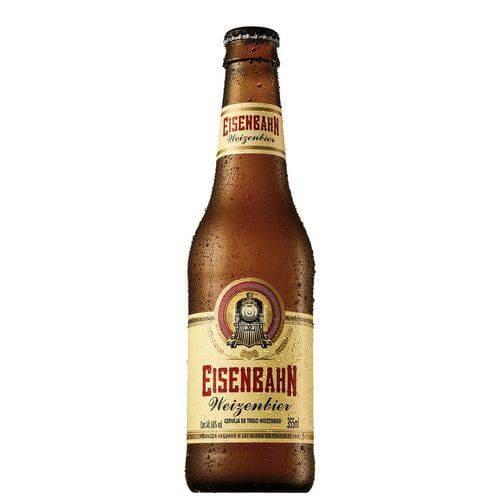 Cerveja Eisenbahn weizenbier long neck gelada