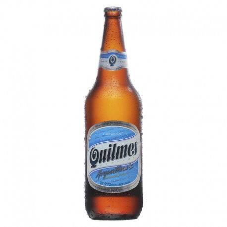 Cerveja argentina Quilmes 970 ml