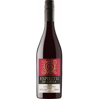 Vinho espiritu do chile pinot noir