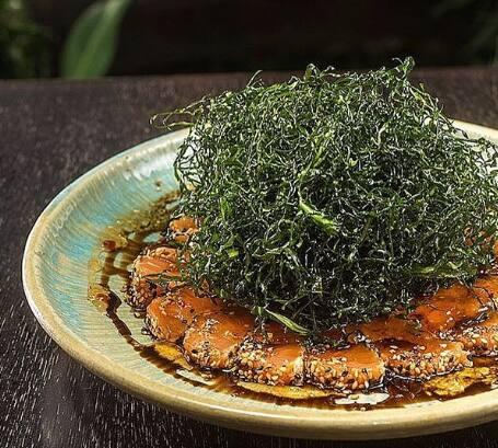 Sashimi crispy