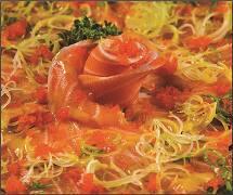 Carpaccio salmão