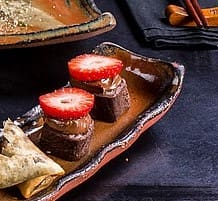 Sushi chocolate com avelã (8un)
