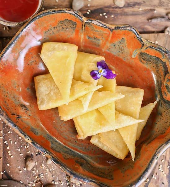 Harumaki de queijo (4 unidades)